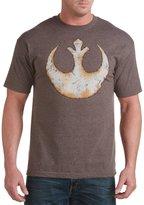 True Nation Star Wars Rebel Alliance Emblem Big & Tall Short Sleeve Graphic T-Shirt (3XL, )