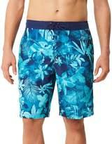 Speedo Men's Marble Floral Board Shorts