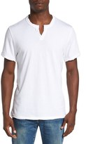 Alternative Men's Notched Neck Pima Cotton T-Shirt