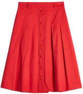 Vanessa Seward A-Line Cotton Skirt