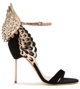 Sophia Webster Evangeline Black Rose Butterfly Sandal
