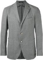 Tagliatore two-button blazer - men - Cupro/Virgin Wool - 50