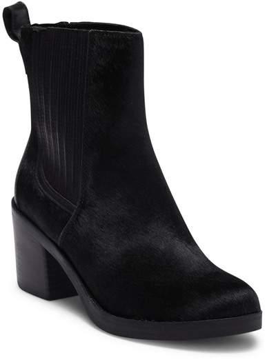 1a94e7c419f Camden Exotic Genuine Calf Hair Block Heel Boot