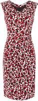 HUGO BOSS Epona leopard print jersey dress