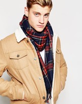 Jack and Jones Scarf in Check