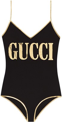 Gucci Lycra swimsuit with print