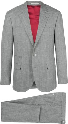 Brunello Cucinelli Checked Two-Piece Suit