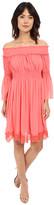 Adrianna Papell Crinkle Chiffon Dress