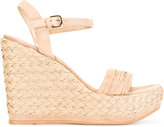 Stuart Weitzman Sundraped sandals - women - Leather/rubber - 36