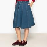 CASTALUNA Denim Skater Skirt