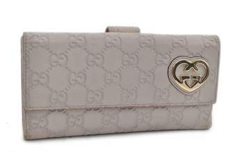 Gucci Grey Leather Wallets