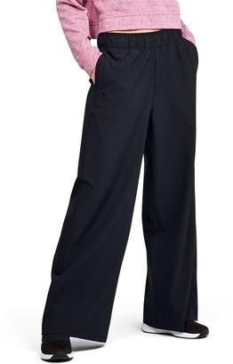 Under Armour Women's Woven Wide-Leg Pants