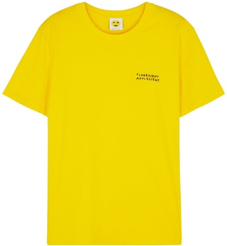YEAH RIGHT NYC Florescent Adolescent Cotton T-shirt