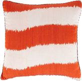 Madeline Weinrib Sunburst Stripe Ikat Pillow