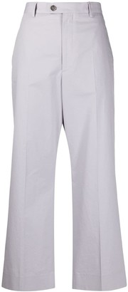 Maison Margiela Cropped Straight Trousers