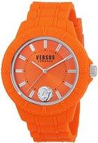 Versace Versus Tokyo_R Unisex Quartz Watch with Orange Dial Analogue Display - SOY100016