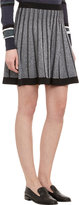 A.L.C. Mélange Knit Flared Skirt
