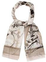 Ports 1961 Abstract Print Scarf