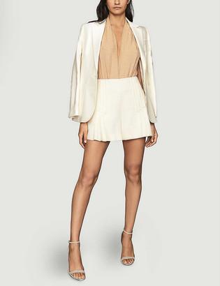 Reiss Indi single-breasted woven blazer