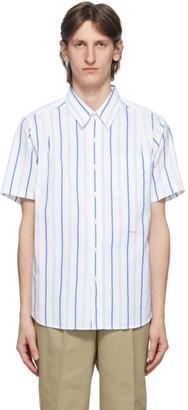 Noah NYC Blue Stripe Studio Shirt