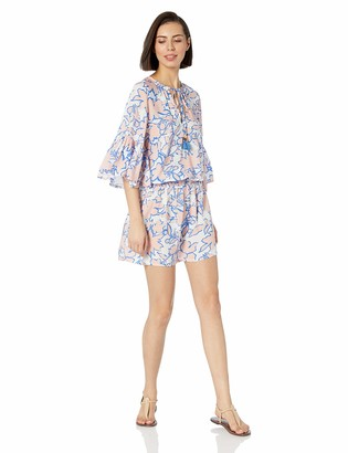 Maaji Women's Sugar Swizzle Pull On Cover Up with Elastic Waist Dress