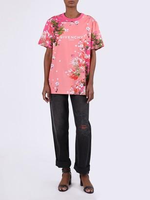 Givenchy Cherry Blossom Logo T-shirt