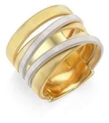 Marco Bicego Masai 18K Yellow& White Gold Five-Strand Ring