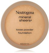 Neutrogena Mineral Sheers Loose Powder Foundation, Soft Beige 50, .19 Oz