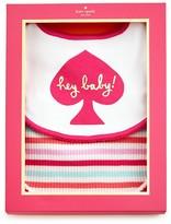 Kate Spade Infant Girls' Hey Baby Bib Gift Set