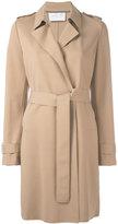 Harris Wharf London - classic trench coat - women - Cotton/Polyamide/Spandex/Elastane - 46