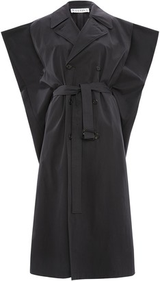 J.W.Anderson Kite sleeveless double-breasted trench coat