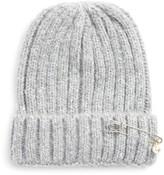David & Young Women's Knit Beanie - Grey