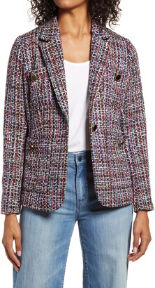 Halogen Callie Tweed Blazer