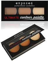Exposed Ultimate CONTOUR PALETTE Kit Bronzing Contouring Highlighting Makeup by Exposed