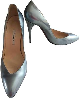 Carven \N Metallic Leather Heels
