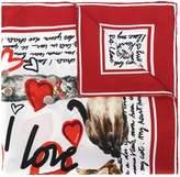 Dolce & Gabbana cat printed scarf