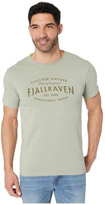 Fjallraven Est. 1960 T-Shirt (Sage Green) Men's T Shirt