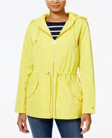 Tommy Hilfiger Hooded Drawstring Anorak, Only at Macy's