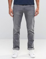 Esprit Slim Fit Jeans In Gray Wash