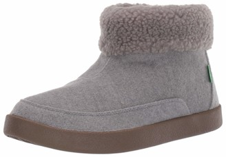 Sanuk Women's Roll-Top Bootie Ankle Boot