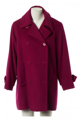 Celine Pink Cashmere Coats