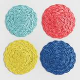 World Market Braided Coasters Set of 4