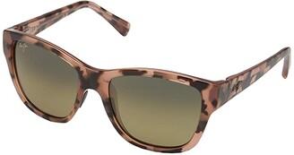 Maui Jim Hanapa'a (Blush Tortoise/HCL Bronze) Fashion Sunglasses