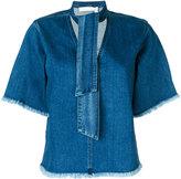 See by Chloe denim blouse - women - Cotton/Spandex/Elastane - 38