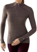 Smartwool NTS 250 Base Layer Top - Merino Wool, Zip Neck, Long Sleeve (For Women)