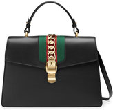 Gucci Sylvie leather top handle bag
