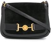 Hermes horsebit detail shoulder bag