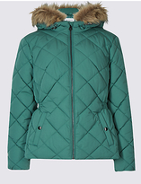 Classic Padded & Quilted Jacket with StormwearTM