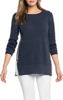 Nic+Zoe On My Side Cotton Blend Sweater