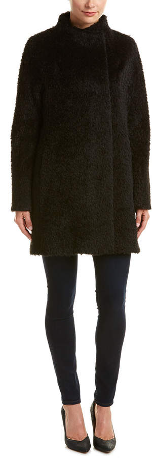 Cinzia Rocca Alpaca & Wool-Blend Coat